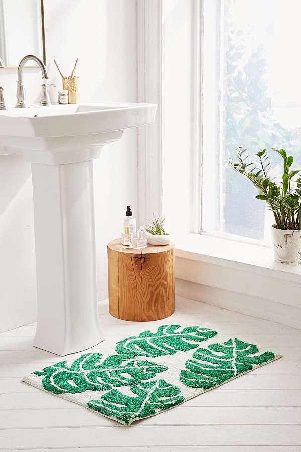 Urban Outfitters Tropical Palm Bath Mat