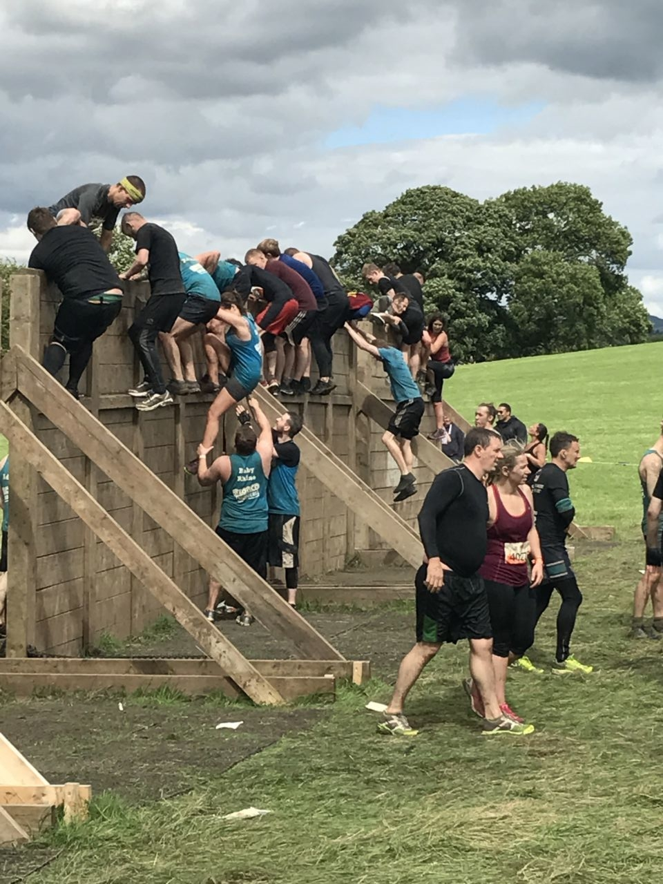 Tough Mudder Hero Walls