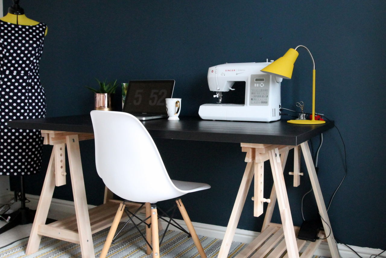 Sewing room & home office reveal