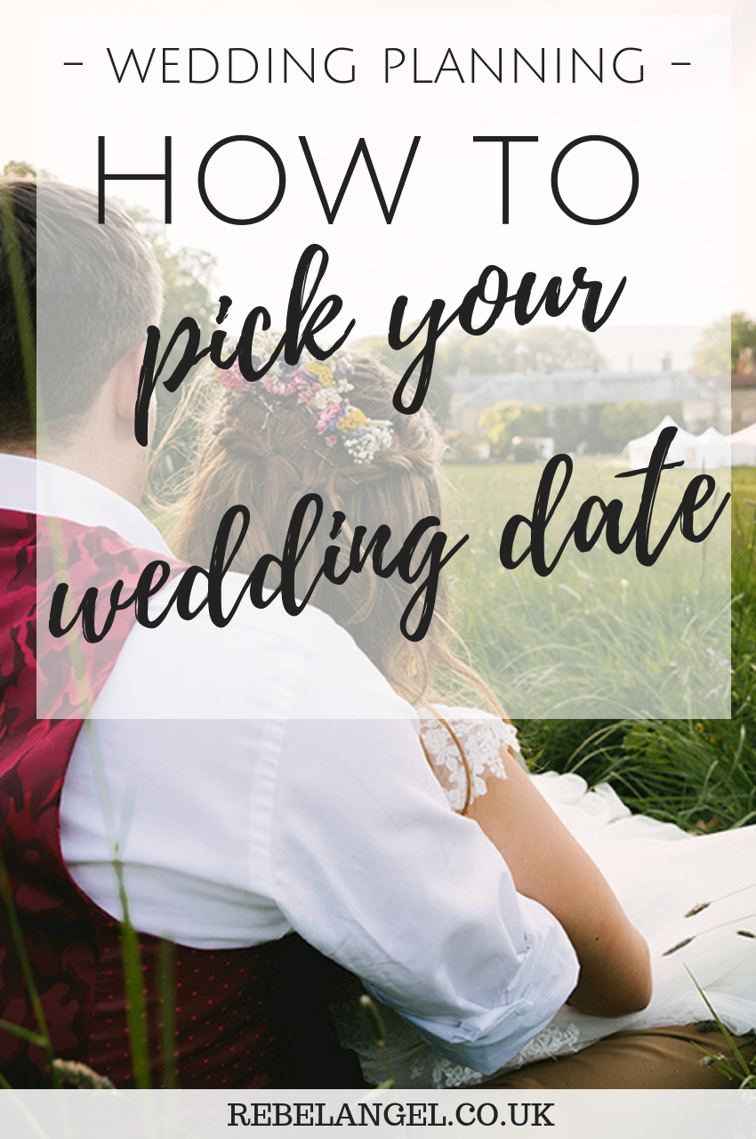 Wedding planning - how to choose your wedding date