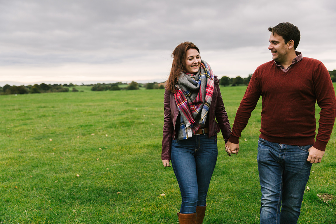 Fall autumn engagement photo shoot with Jemma King, Hull wedding photographer