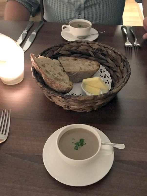 Rascills restaurant review, Raskelf, York - Wild mushroom veloute