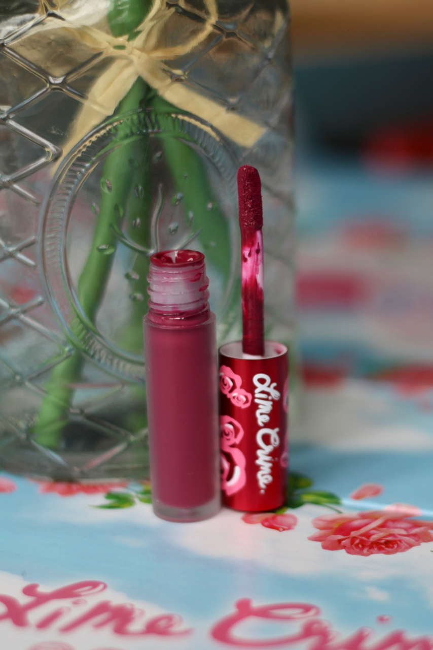 Lime Crime Beet-It Velvetine Review