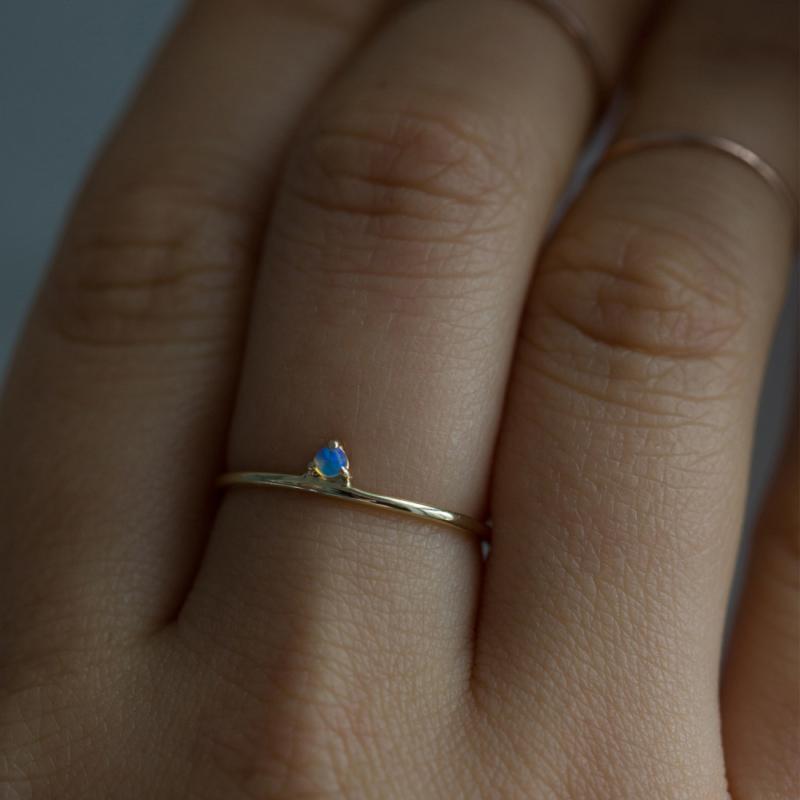 Catbird Opal Engagement Ring
