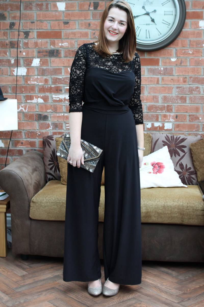 Christmas party outfit that isn't a dress - jumpsuit