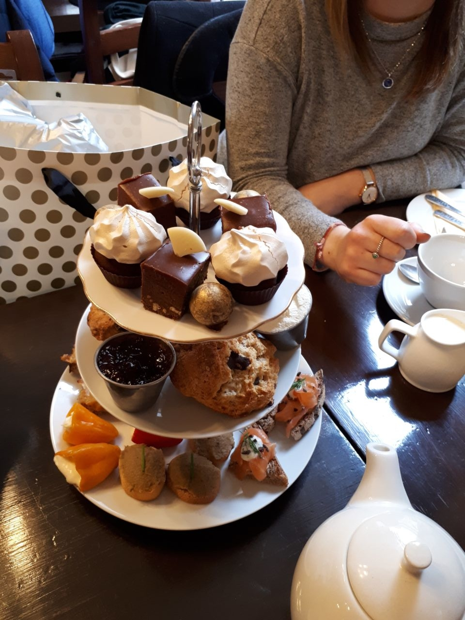 York Cocoa House afternoon tea