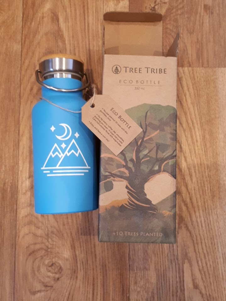 Tree Tribe reusable water bottle - living plastic free