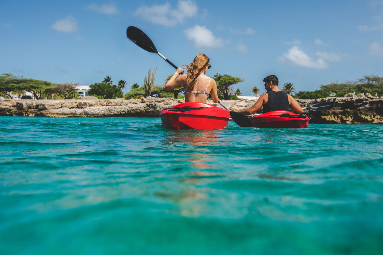 Kayaking Aruba
