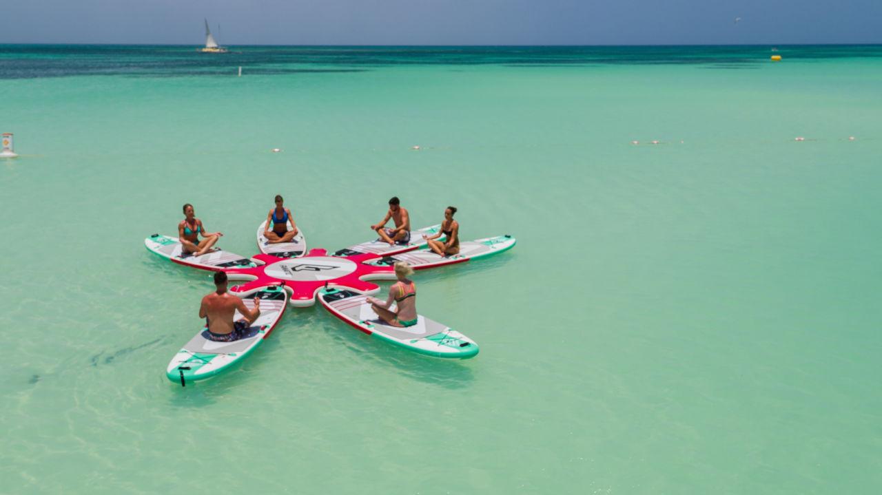 Paddle Board Yoga Aruba