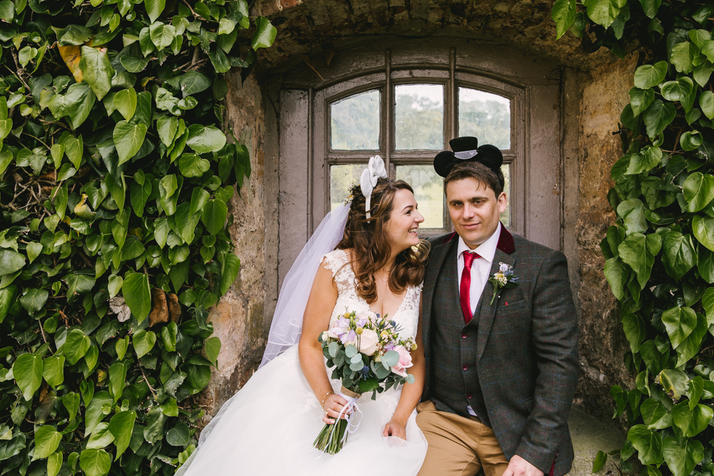 Disney inspired wedding at Newburgh Priory