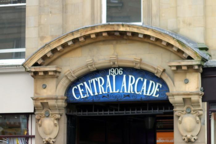 Newcastle Central Arcade