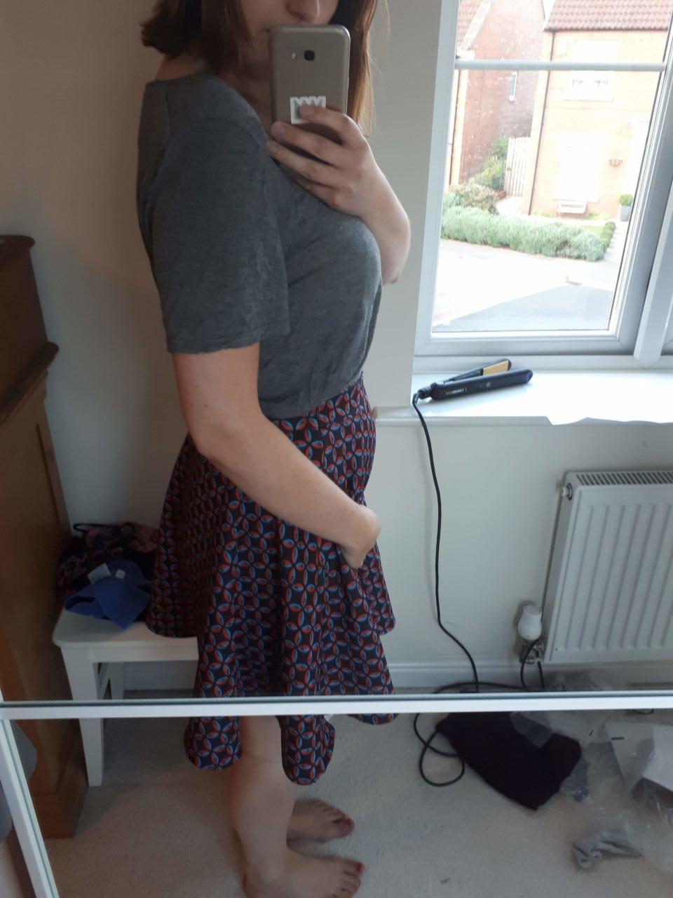 Week 7 pregnancy diary - bump or bloat?