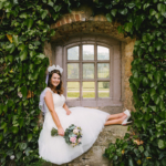 Wedding Day - Brighton Belle Lottie dress real bride
