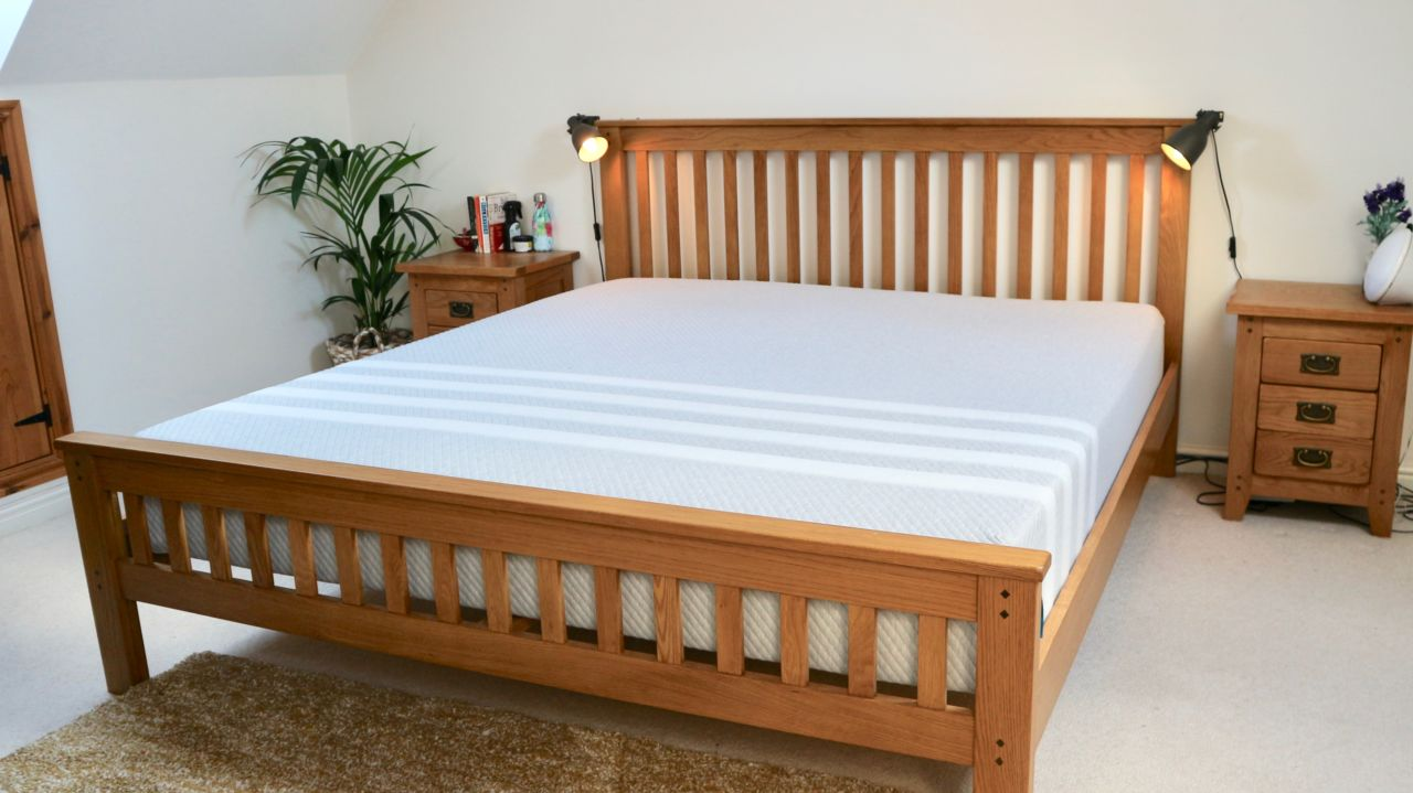 Leesa mattress blog review - Master bedroom update - mustard & grey