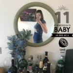 11 weeks pregnant - blogger pregnancy diary