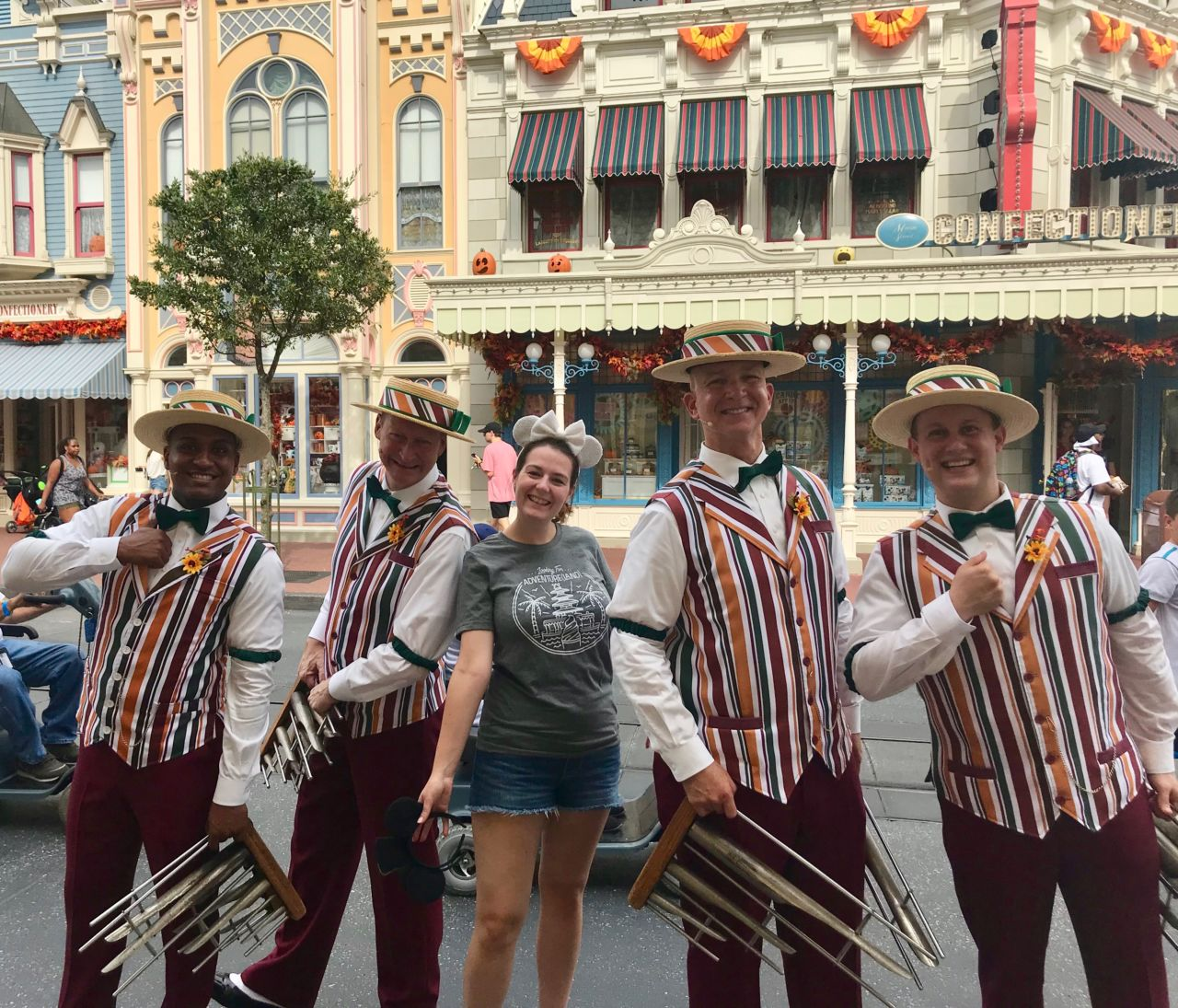 Dapper Dans at Walt Disney World