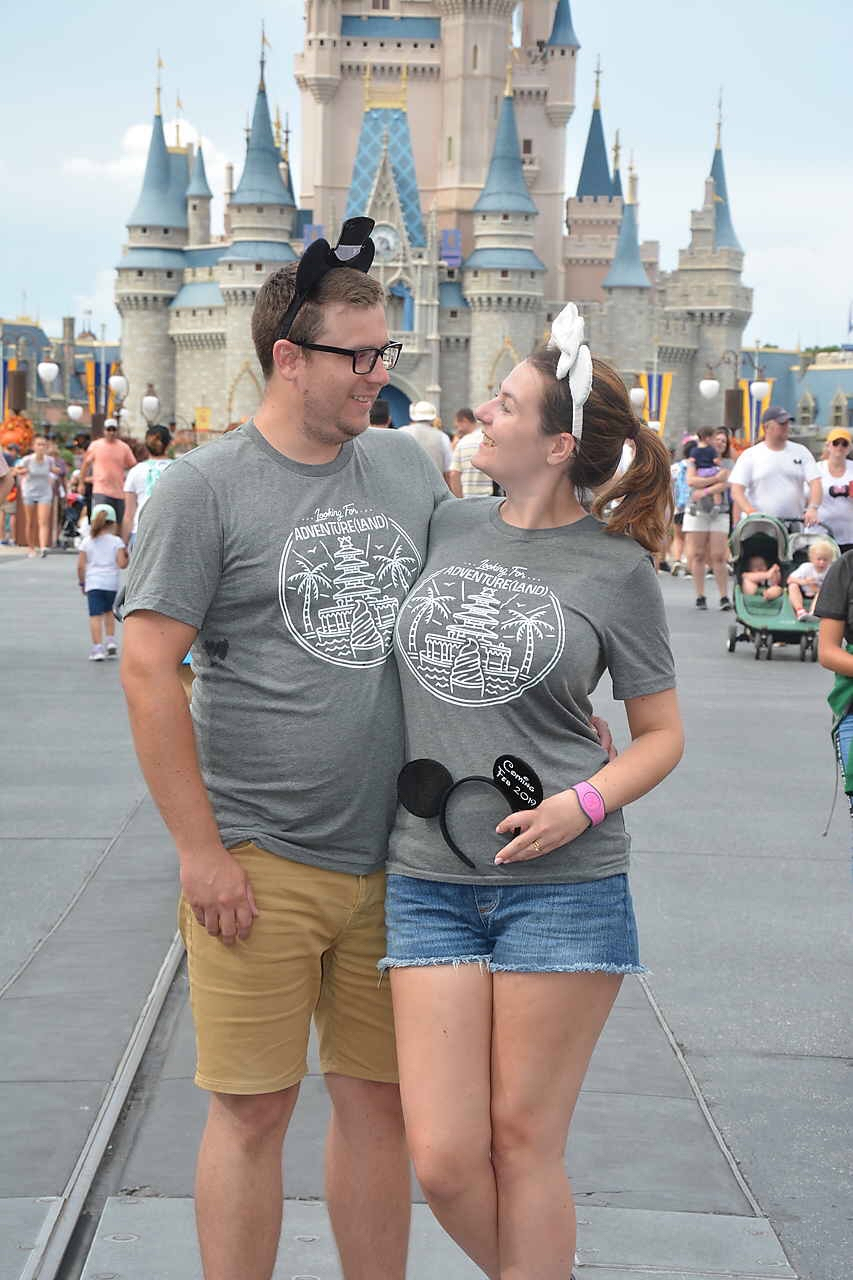 Walt Disney World Pregnancy Announcement