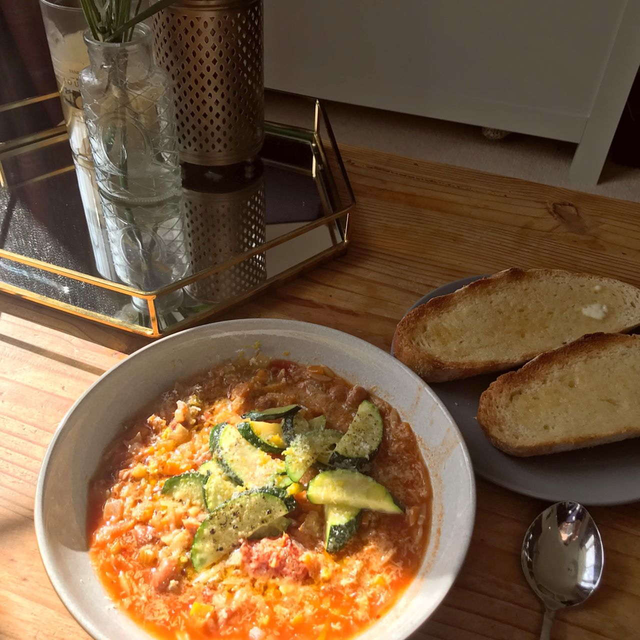 Borlotti Bean Minestrone Nick Knowles Proper Healthy Food