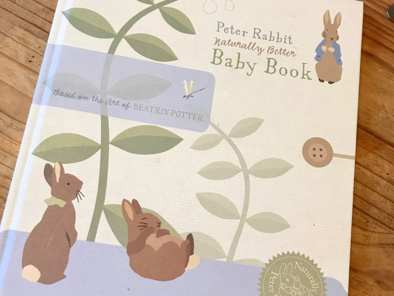 Peter Rabbit baby book - 13 weeks blogger pregnancy diary