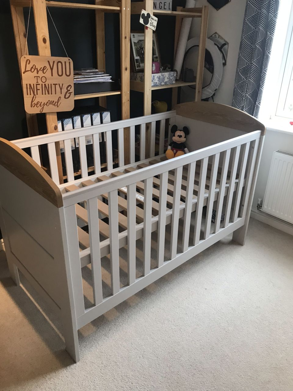 Mamas & Papas Harrow cot for nursery from Argos
