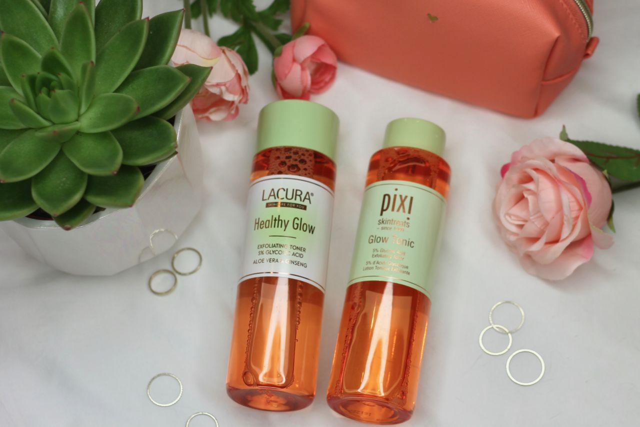 Aldi's Pixi Glow Tonic Dupe: Lacura Healthy Glow Exfoliating Toner review