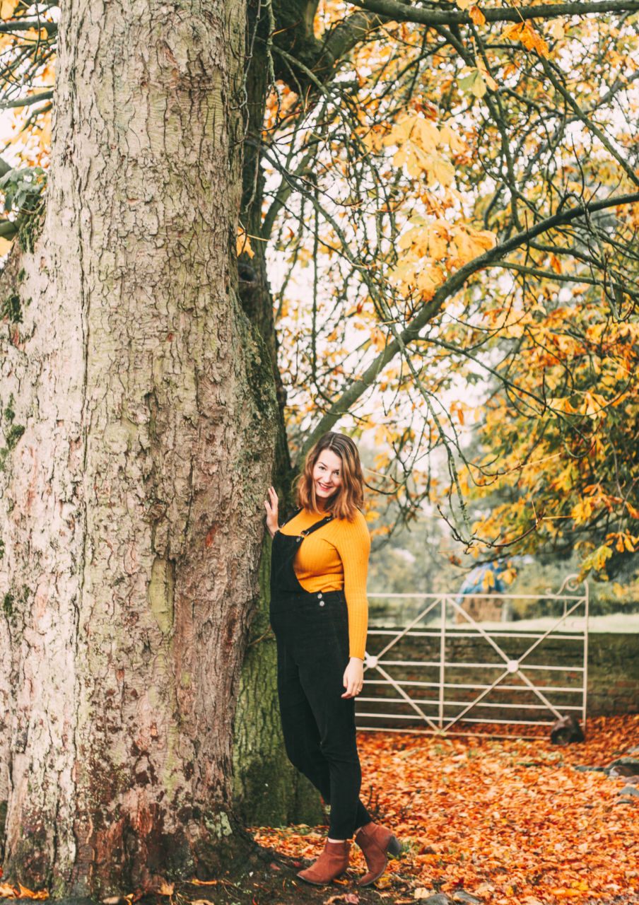 Non-maternity outfit Primark dungarees