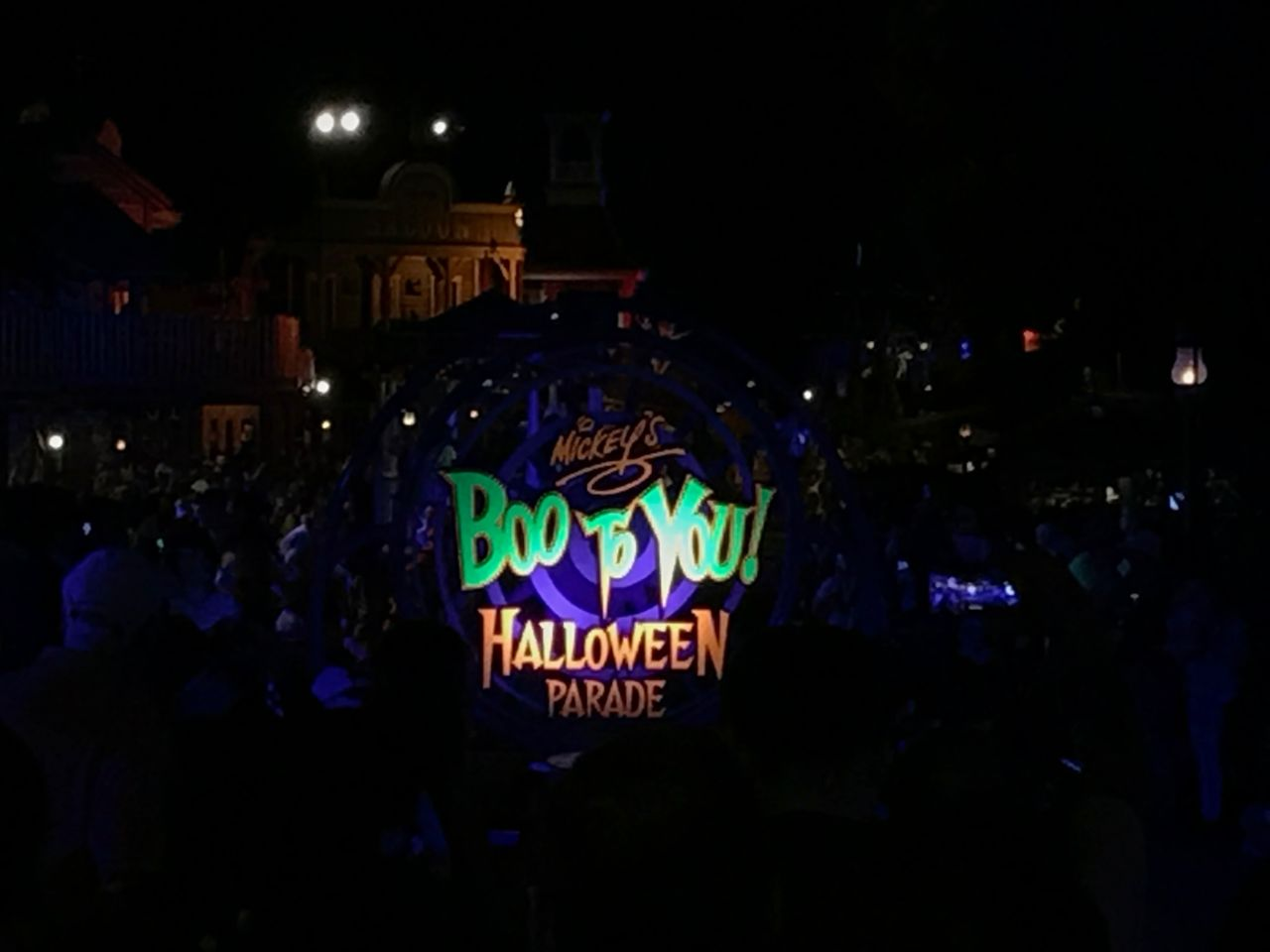 Boo To You Mickey's Not So Scary Halloween Parade
