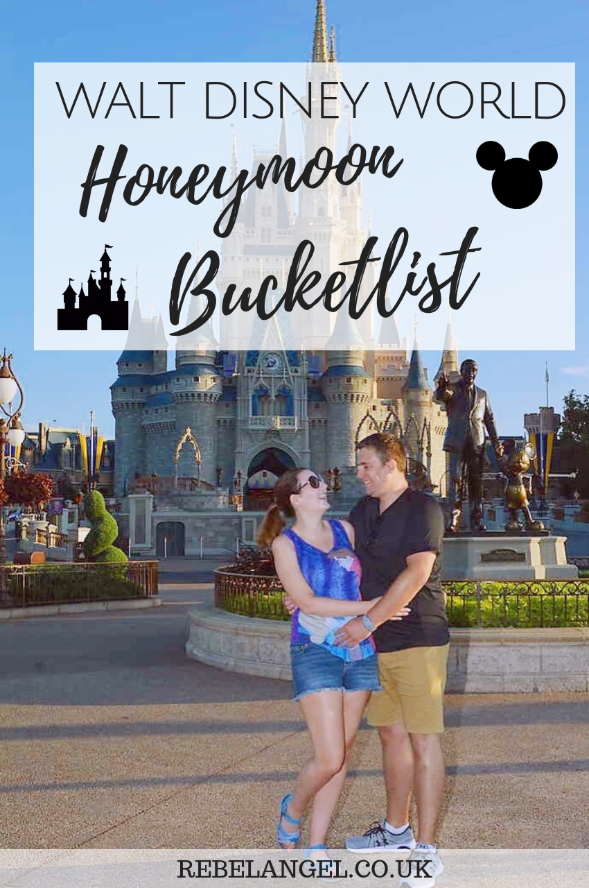 Walt Disney World Honeymoon Bucketlist