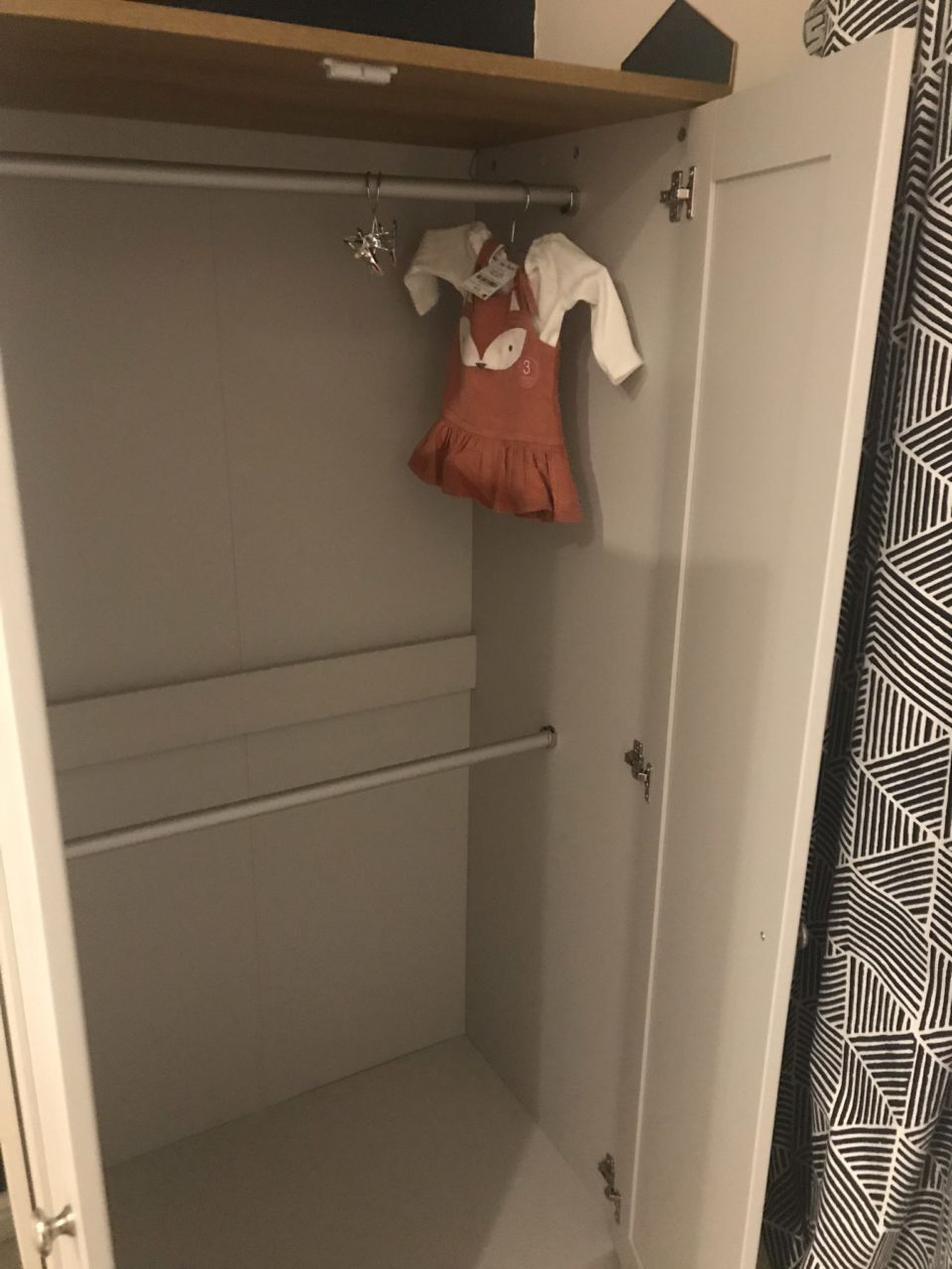 21 weeks pregnancy diary - wardrobe nursery furniture from Argos