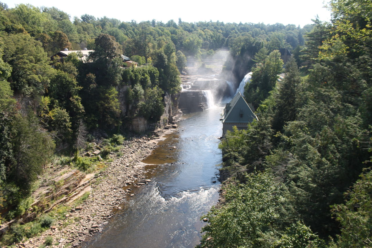 Ausable Chasm - what to do near Lake Placid