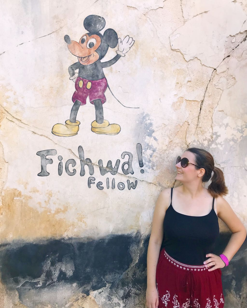 Where to find the Fichwa Fellow Instagram wall at Walt Disney World