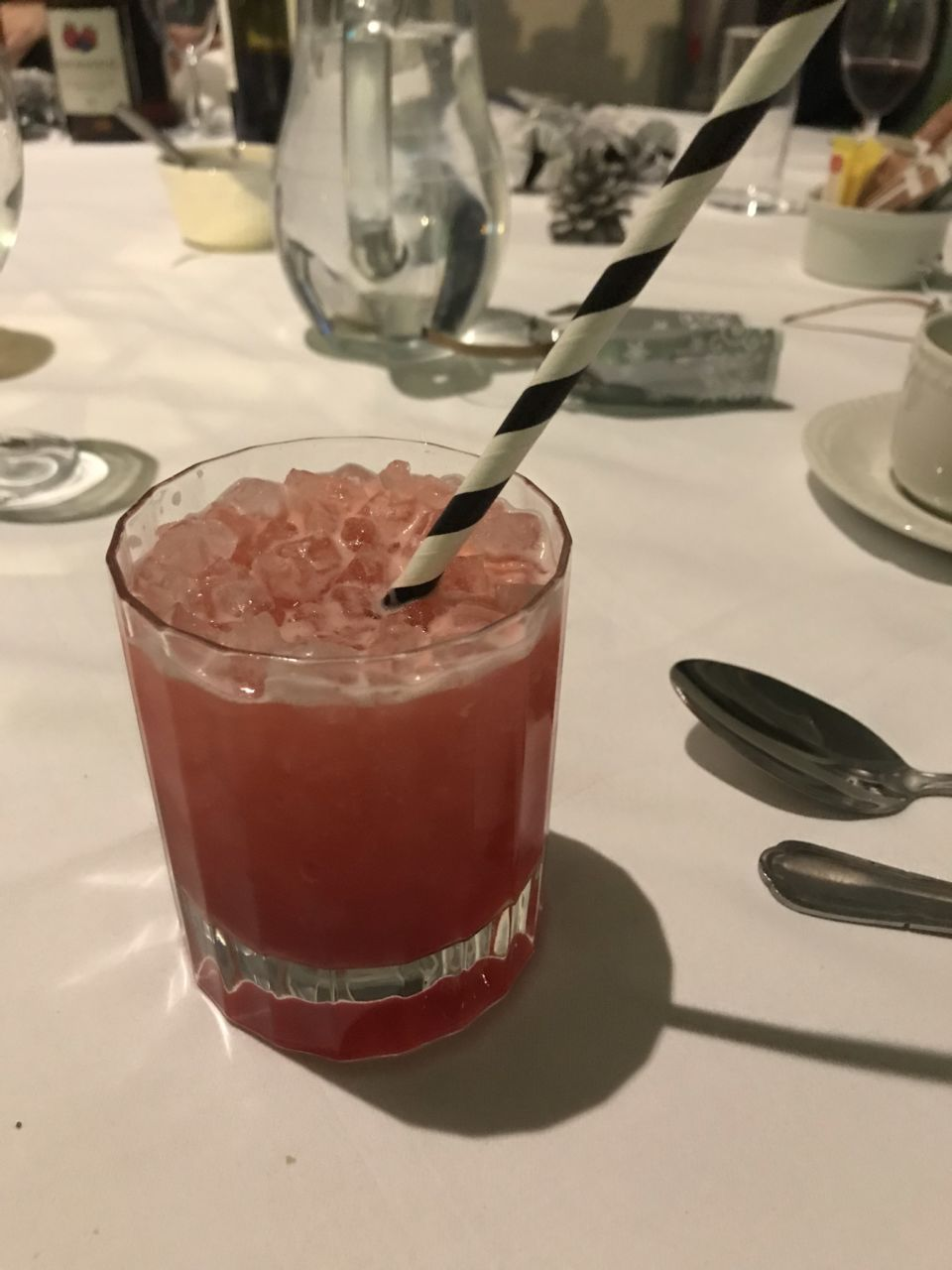 Mocktail at Christmas party while pregnant