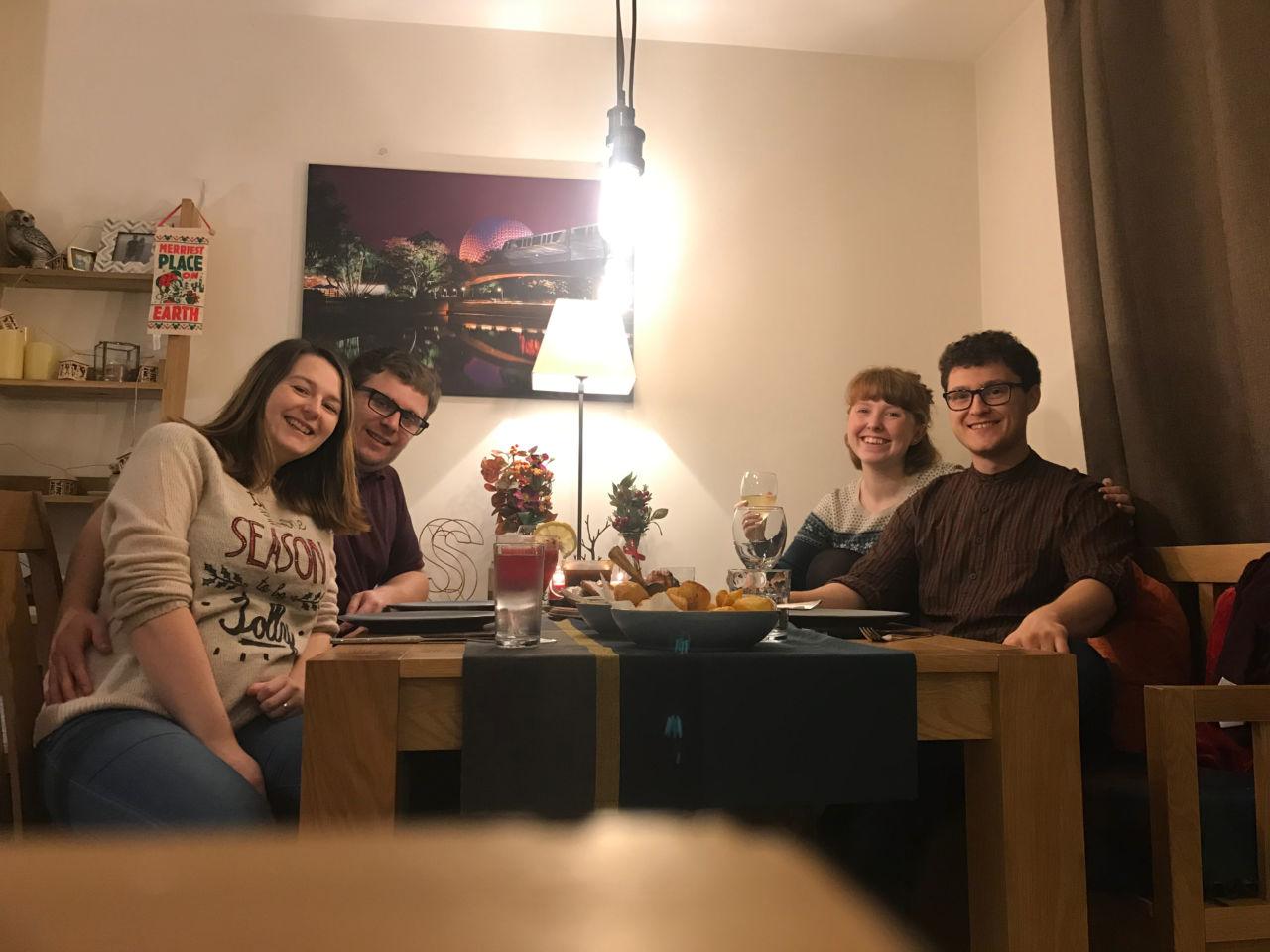 Italian Christmas dinner - porchetta