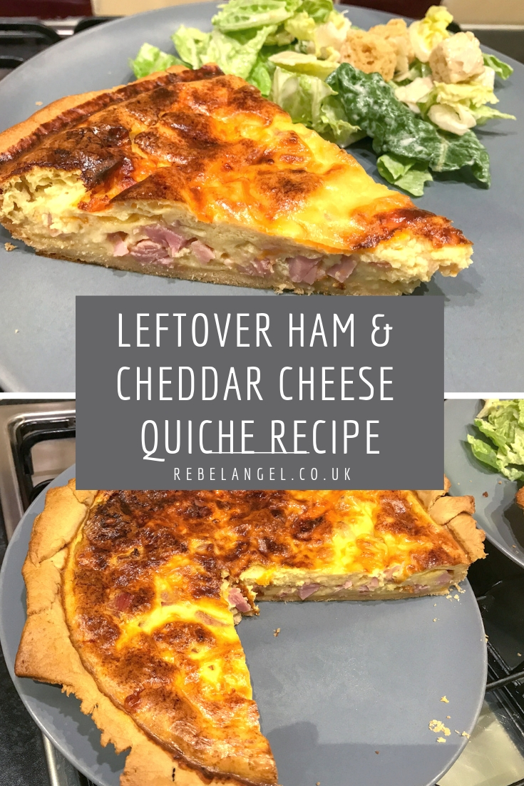 Leftover Christmas Ham & Cheese Cheese quiche recipe