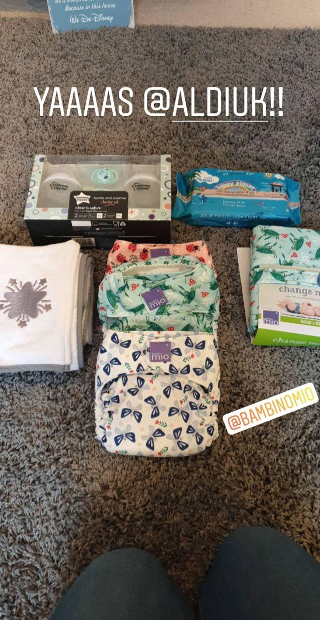 Aldi Baby Event purchases - Bambino Mio nappies at Aldi!