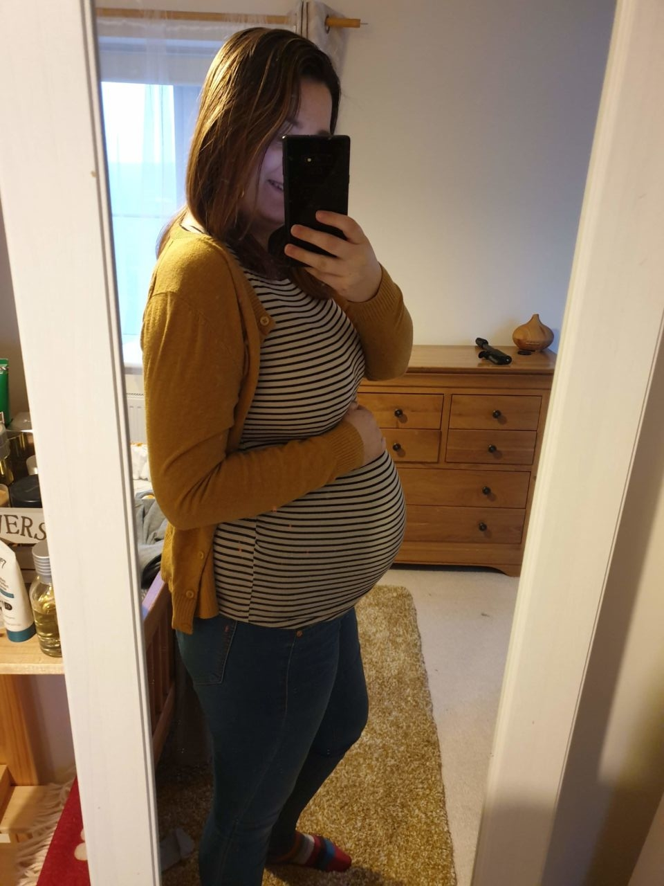 36 weeks pregnant outfit