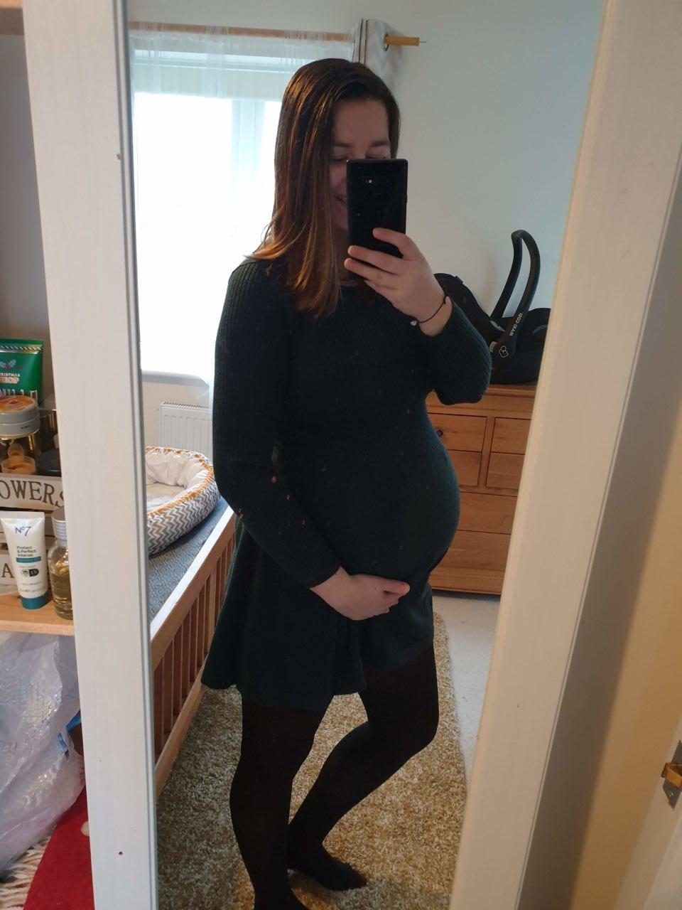 Blogger pregnancy diary week 37