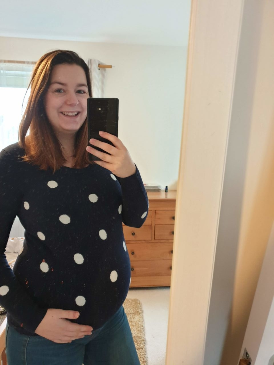 37 weeks pregnancy diary outfit