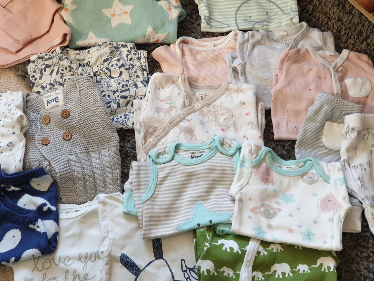 Organic baby clothes subscription service - 38 weeks pregnancy diary