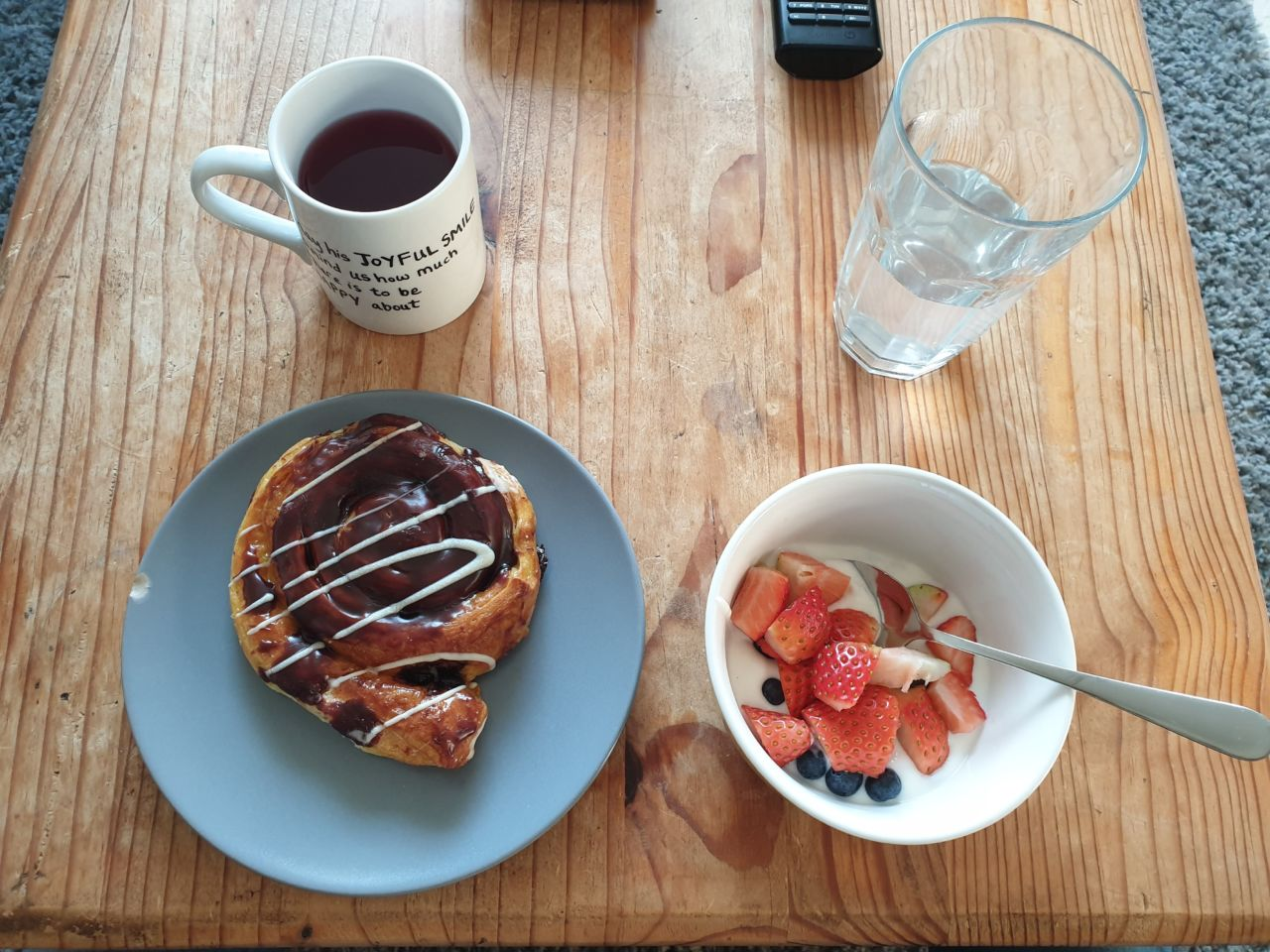 Maternity leave breakfast - 38 weeks blogger pregnancy diary
