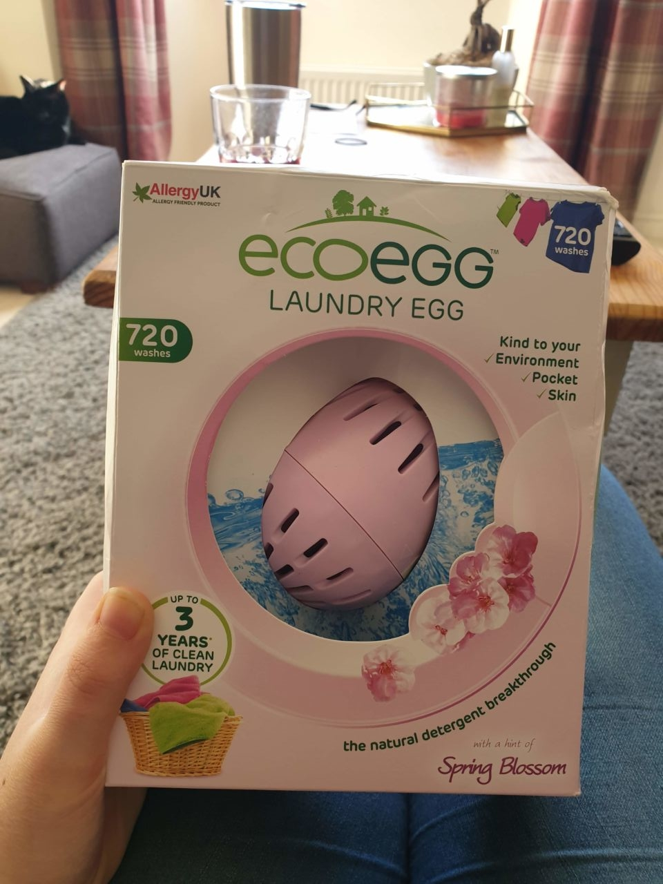 EcoEgg laundry egg for baby clothes