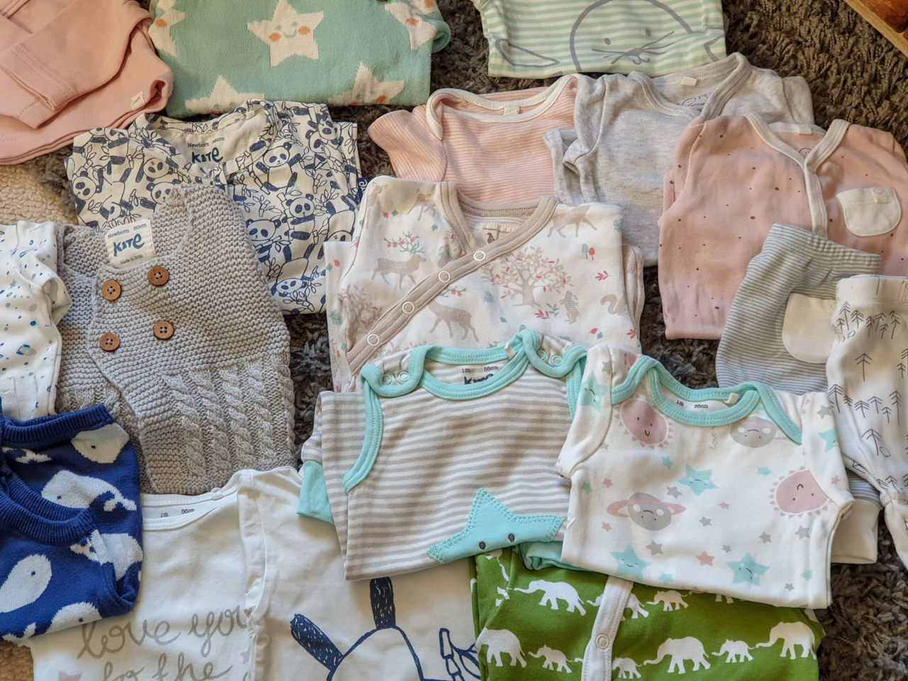 Belles and Babes organic baby clothing subscription review