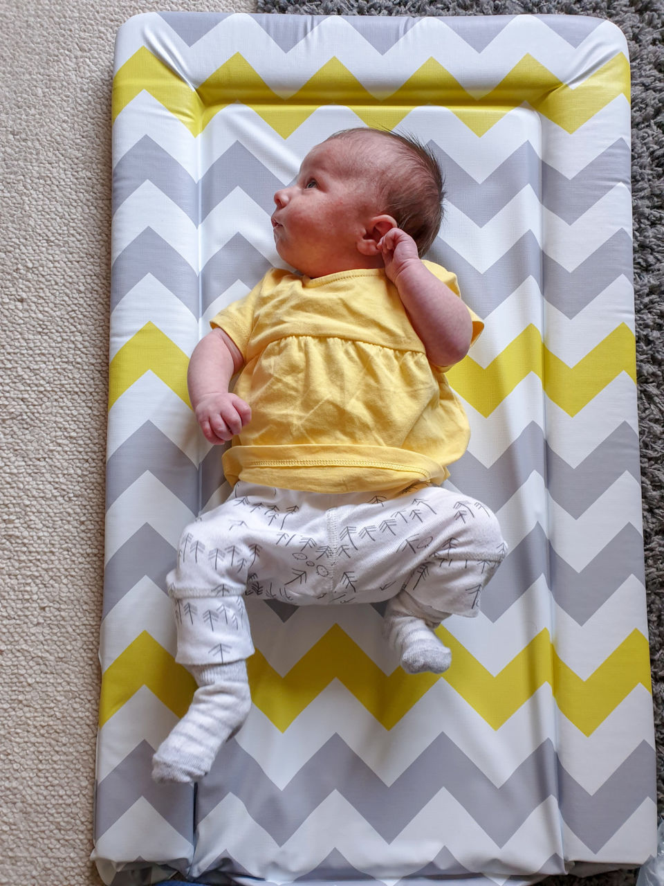Belles and Babes organic baby clothing subscription review - Mori leggings