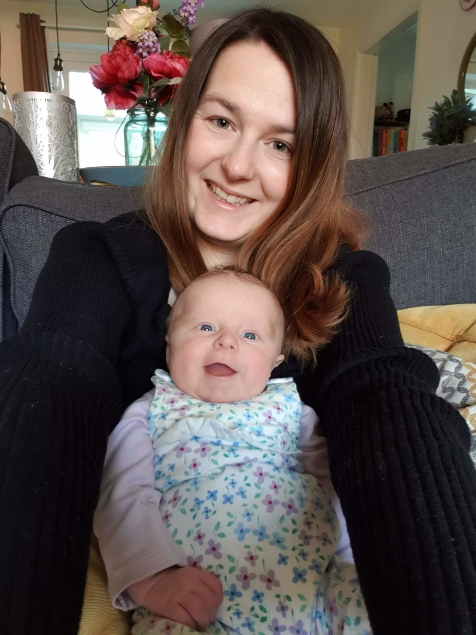 Emmy at 2 months