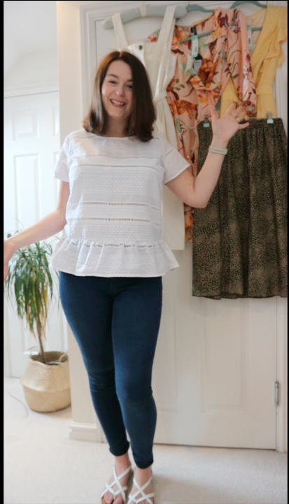 Stitch Fix UK review - Joules top