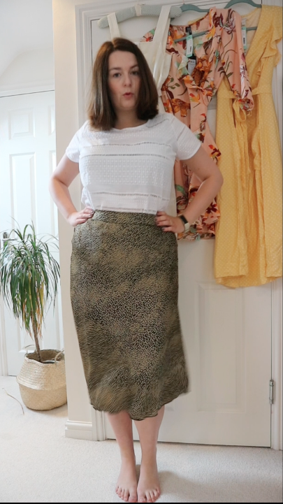 Stitch Fix UK review - Joules top and Vero Moda skirt