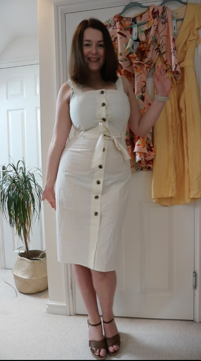 Stitch Fix UK review - YAS dress