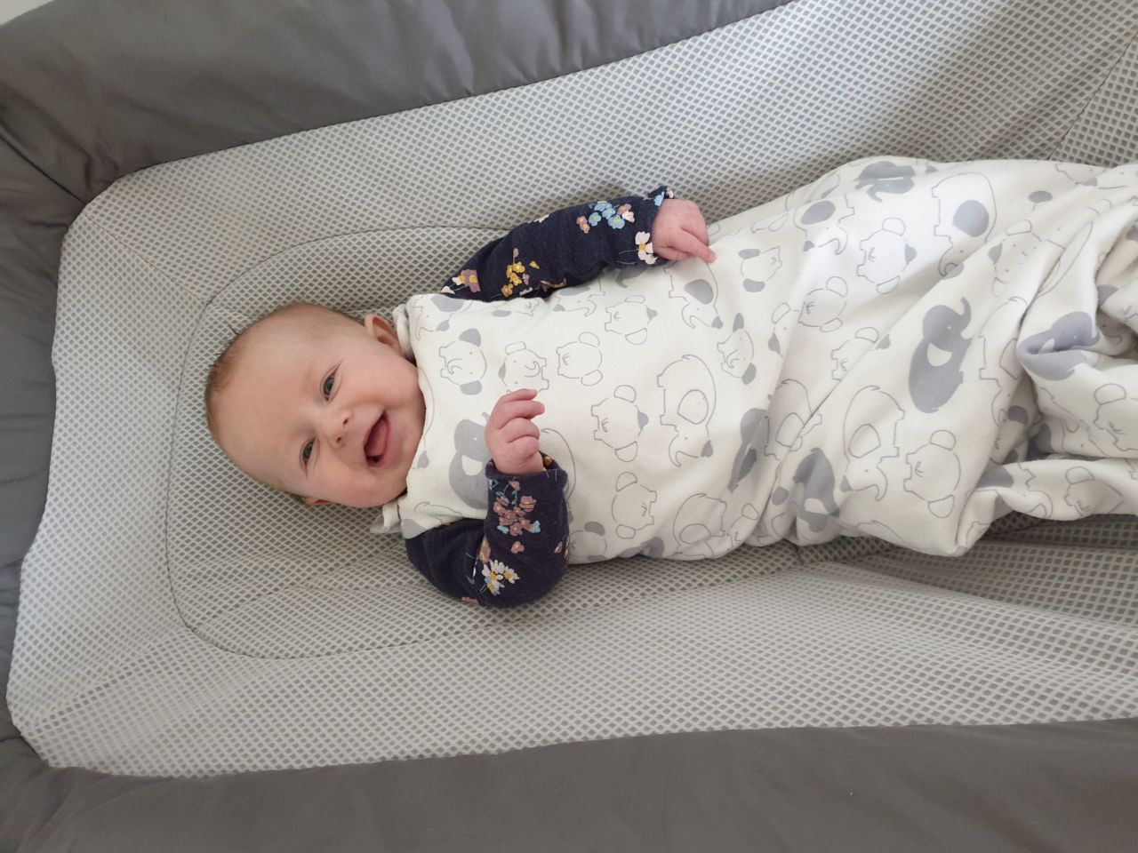 Things mums say that are true - Emmy 3.5 months old