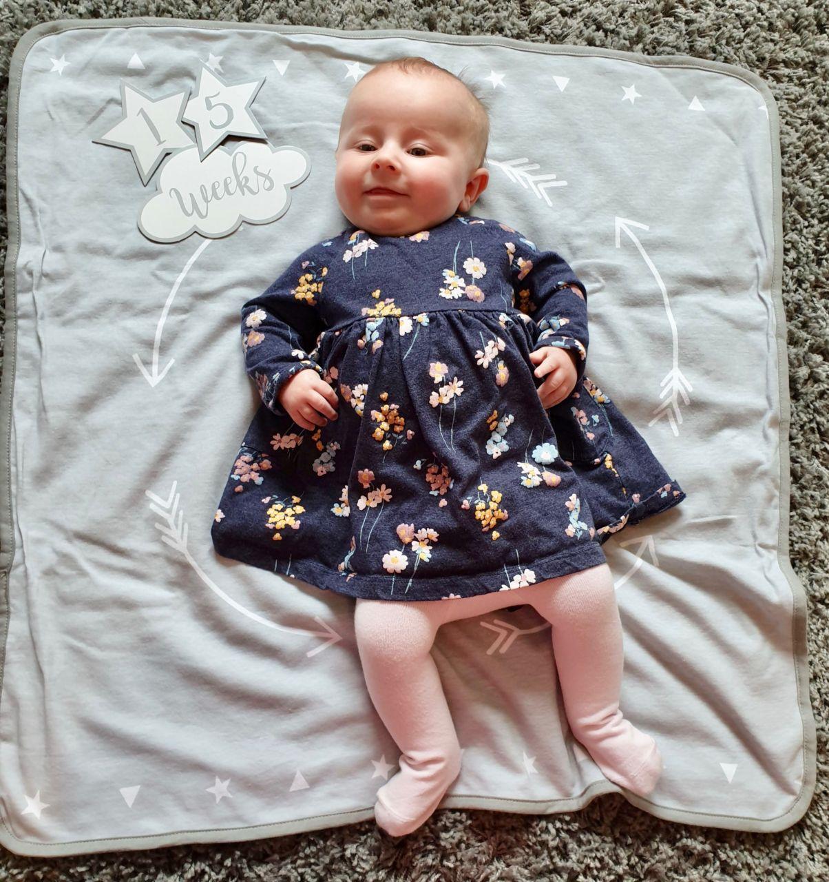 Emmy at 4 months