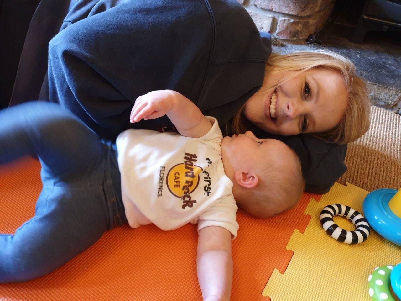 Emmy at 8 months